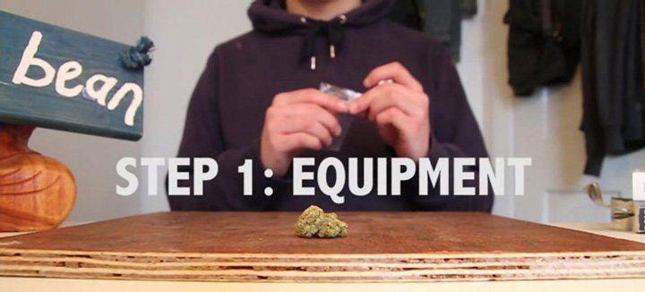 Equipment needed to make a Spliff