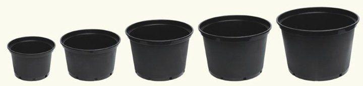 different pot sizes