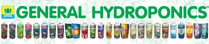 Cannabis Nutrition Products From General Hydroponics