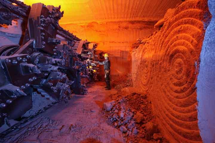 Potash Mining